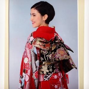 Kimono takaapäin