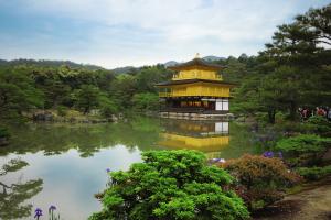 Kyoto Kinkanku-ji temple - photo Anne Repo