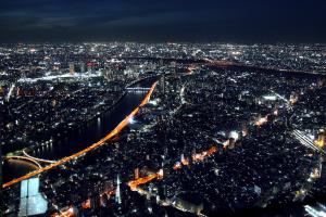 Tokyo nightview - photo Anne Repo